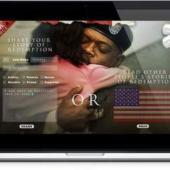 Hire Melvin Rivera - Portfolio - Home of the Brave Website