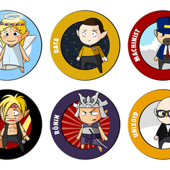 Hire Murid Rahhal - Portfolio - Badges for coding school