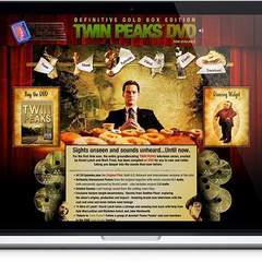 Hire Melvin Rivera - Portfolio - Twin Peaks DVD Website