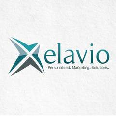Hire Elyse Myers - Portfolio - Logo for Elavio Marketing