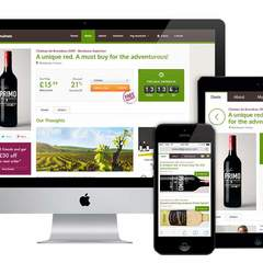Hire Murid Rahhal - Portfolio - Drop Wines - Responsive Website