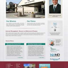 Hire Grant Darrah - Portfolio - Wayne County Hospital Website