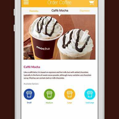 Hire Nelson Sakwa - Portfolio - Coffee House IOS concept