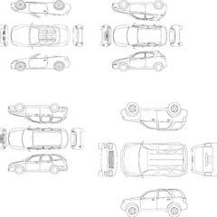Hire Ruzzel Maestro - Portfolio - Car Diagrams
