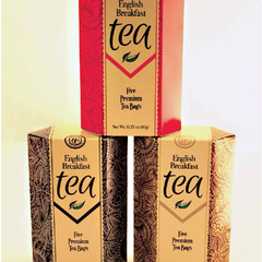 Hire Nerissa Thomas - Portfolio - Comfort Collection English Breakfast Tea