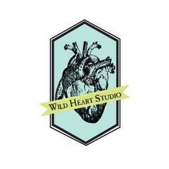 Hire Ashley Ruggirello - Portfolio - Wild Heart Studio Logo Design