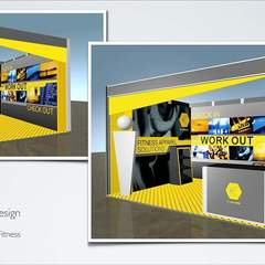 Hire Sertac Mustafaoglu - Portfolio - 3D Modeling and Planning for Exhibition Booth