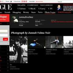Hire Jannah Velma Noir - Portfolio - Vogue Italia Website