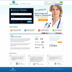 Hire Chris Jamero - Portfolio - Health Care Website Design