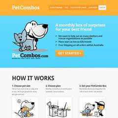 Hire Amy Tsai - Portfolio - Pet Combos