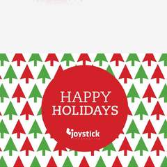 Hire marlo monteagudo - Portfolio - Joystick holiday card