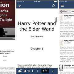 Hire Bilal Ahmed - Portfolio - FanFiction: iPhone App
