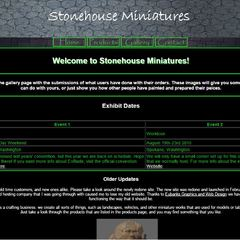 Hire Tammy Eubanks - Portfolio - home page of Stonehouse Miniatures