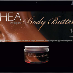 Hire Janine Barbosa - Portfolio - Shea Body Butter - Label