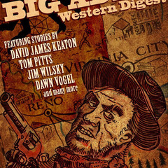 Hire J.T. Lindroos - Portfolio - Big Adios Magazine Cover Illustration