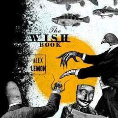 "Hire Stewart Williams - Portfolio - ""The Wish Book"" Book Cover"
