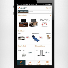 Hire Shoaib Ahmad - Portfolio - Mobly - Mobile app for Rocket Internet E-commerce