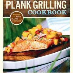 "Hire Stewart Williams - Portfolio - ""The Plank Grilling Cookbook"" Book Cover"