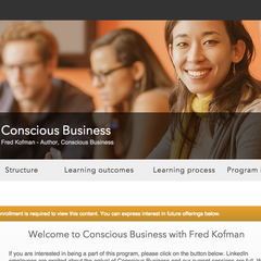 Hire Stephanie Gredell - Portfolio - Conscious Business e-Course
