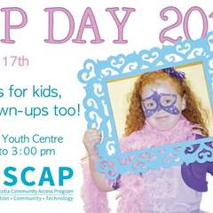 Hire Caroline Poirier - Portfolio - CAP Day Flyer for C@P Society of Cape Breton