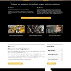 Hire LaVon B. Grant - Portfolio - Xxcell Freight Systems Website Redesign & Dev.
