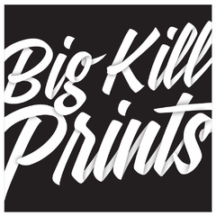 Hire Grant Darrah - Portfolio - Big Kill Prints Logo
