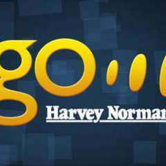Hire Nathanael Piper - Portfolio - Harvey Norman Go Logo