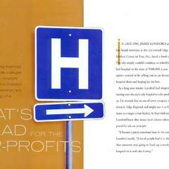 Hire Tracy Cox - Portfolio - Healthcare Magazine / For-Profit