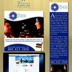 Hire Camille Steltzlen - Portfolio - Wine Country marketing material
