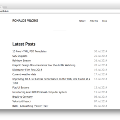 Hire Ronalds Vilcins - Portfolio - MODIFIED POOLE