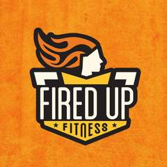 Hire Alison McDonnell - Portfolio - Fired Up Fitness Logo