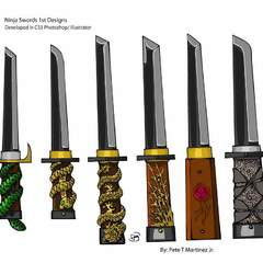 Hire Pete Martinez - Portfolio - Ninja Swords Display