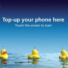 Hire Alan Lowbridge - Portfolio - O2 Top up