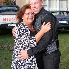 Hire Eloudi Coetzer - Portfolio - The before photo of a son and his mum
