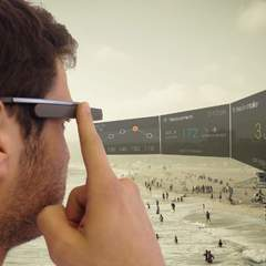 Hire Josef Richter - Portfolio - Google Glass scanner app