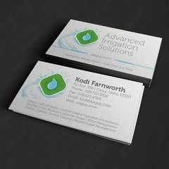 Hire Grant Darrah - Portfolio - Advanced Irrigation Solutions Business Cards