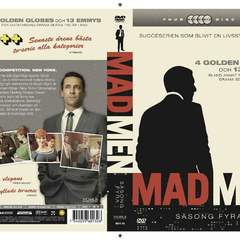 Hire Kasper Sperber - Portfolio - Cover sleeve for Mad Men