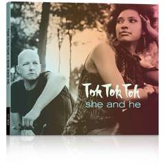 "Hire Sebastian Hartmann - Portfolio - Coverdesign for ""she and he"" by Tok Tok Tok"