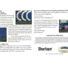 Hire David Ayscue III - Portfolio - Shurtape autobody tape - brochure promotion