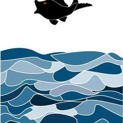 Hire Cara Shih - Portfolio - Like a fish out of water print