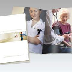Hire Warren Kramer - Portfolio - Harborwood Family Medicine Booklet