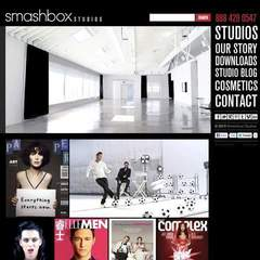Hire Dee deLara - Portfolio - Smashbox Studios Website Redesign