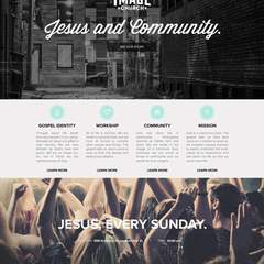 Hire Danilo Quilaton - Portfolio - The Image Church landing page