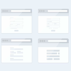 Hire Robert Haverly - Portfolio - In-App browser icons