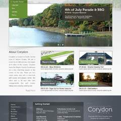 Hire Grant Darrah - Portfolio - City of Corydon Website