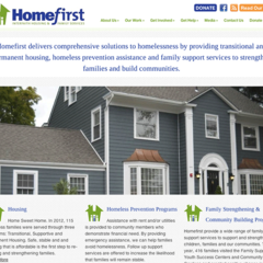 Hire Genevieve Herres - Portfolio - WordPress Website for Homefirst