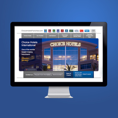 Hire Punch Robinson - Portfolio - Choice Hotels Franchise Website