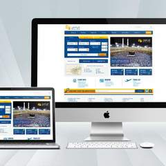 Hire beedo Ali - Portfolio - Nile Air Website Redesign