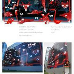 Hire Robert Alejandro - Portfolio - HSBC mural at the Fort Bonifacio