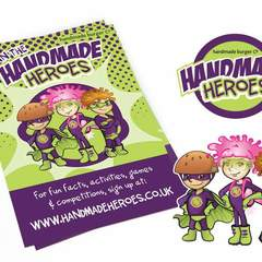 Hire Sarah Ingram - Portfolio - Handmade Heroes Kids Club